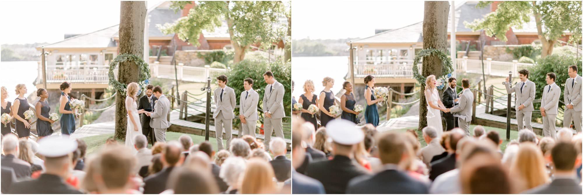 nautical squantum association wedding