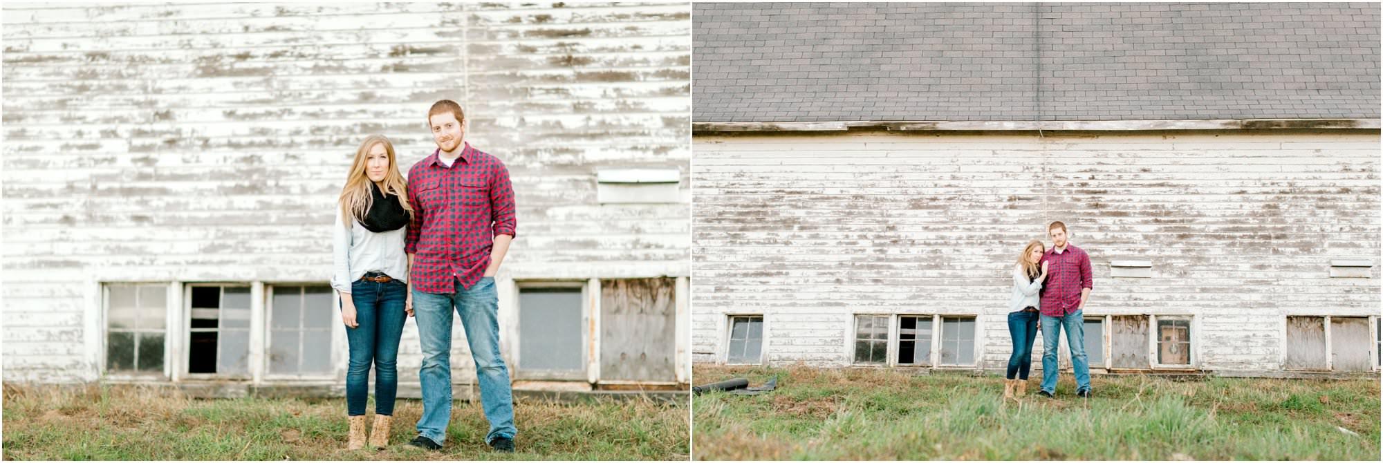 rustic farm engagement connecticut wedding photographers