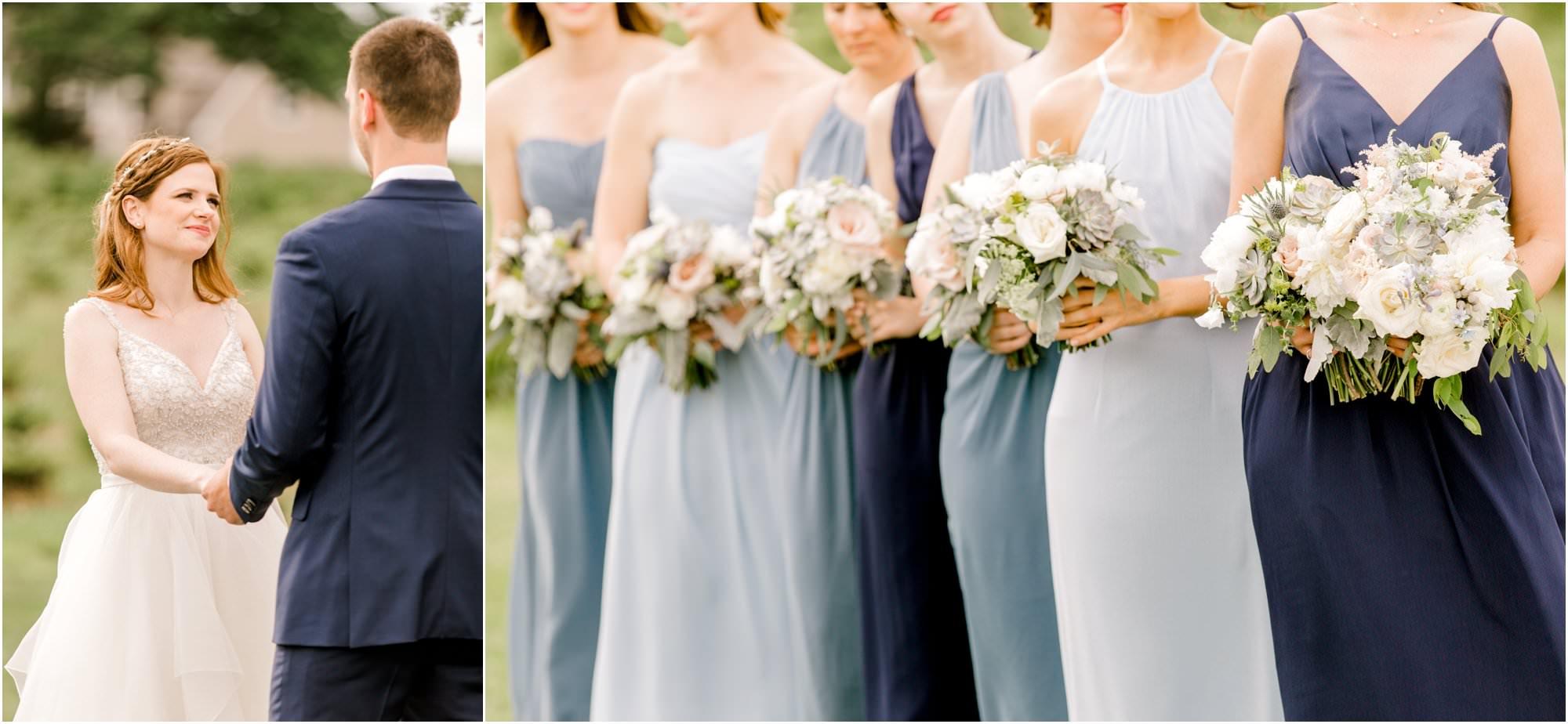 romantic allen hill farm wedding