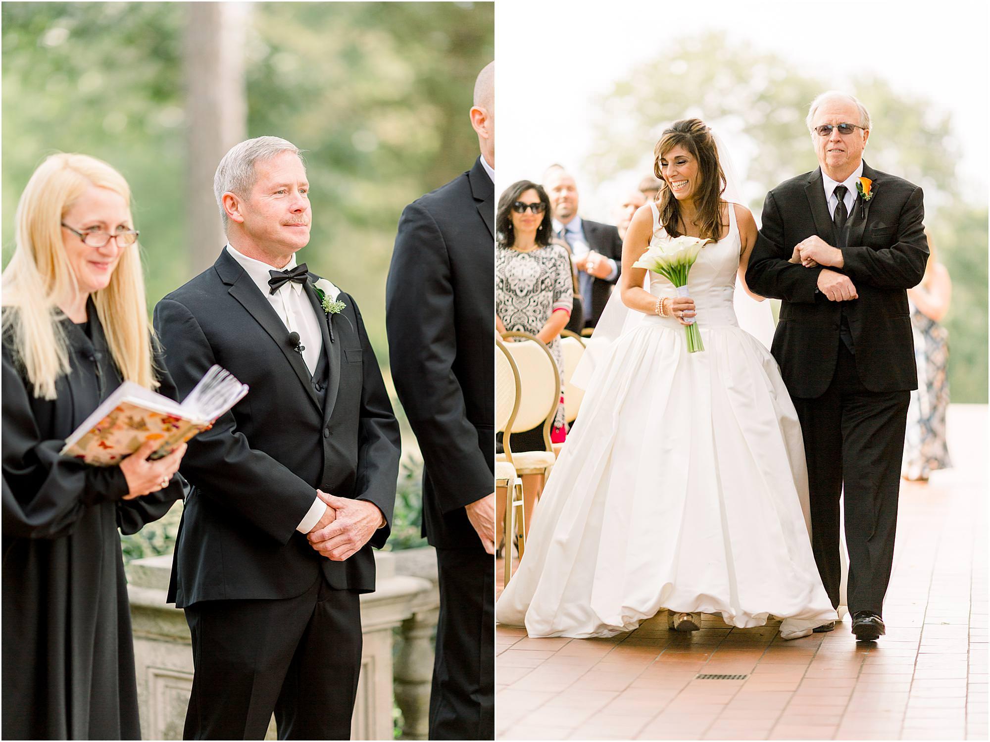 classic waveny park wedding
