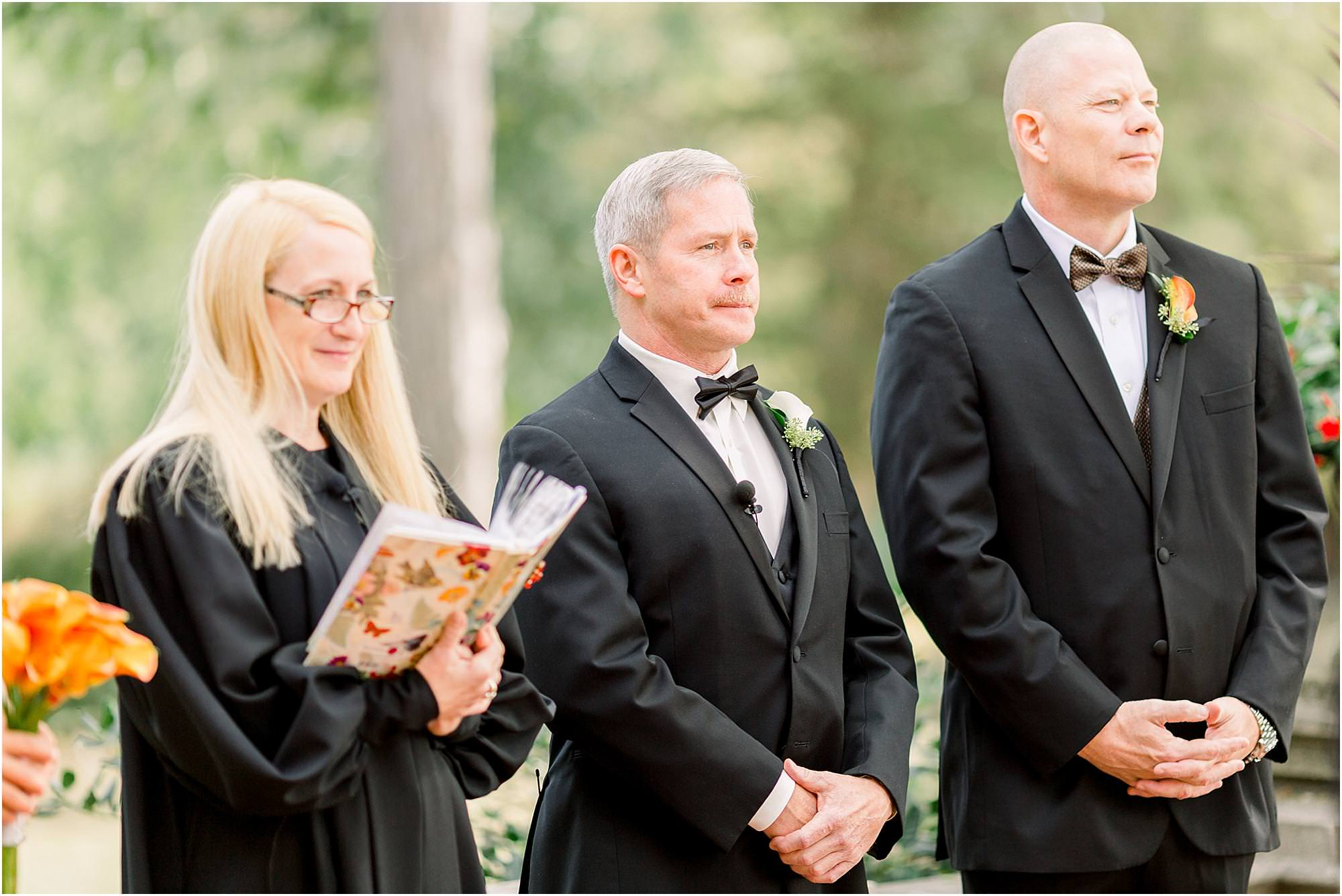 waveny park wedding ceremony